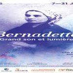 spectacle de son et lumière en juillet 2016 sur la vie de Bernadette Soubirou à Nevers