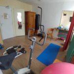 pour un entraisement physique, une salle de sport pour les clients de l'hôtel de Verdun