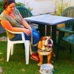 un accueil particulier pour les chiens qui ont soif